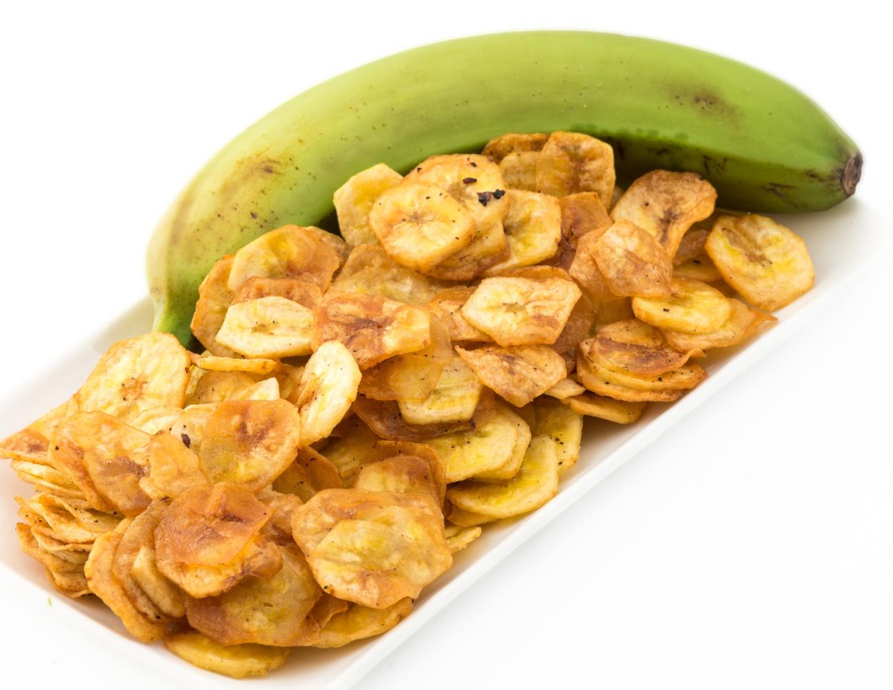 Green Banana Chips from Cuban Cuisine