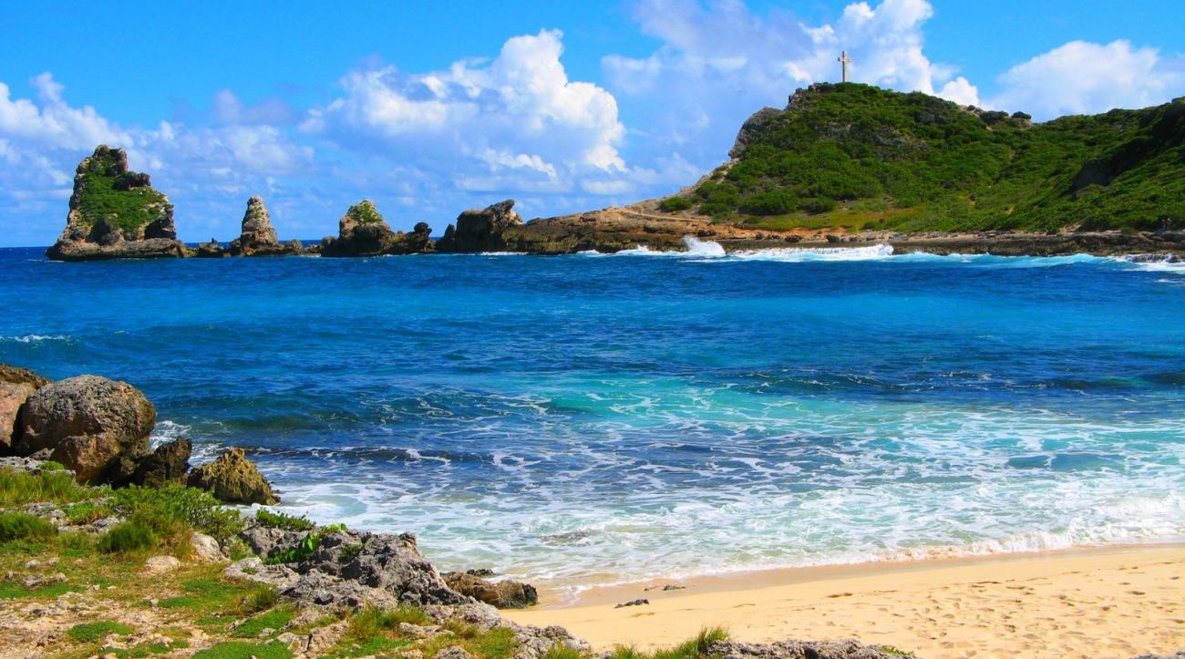 Pointe des Chteaux, Guadeloupe