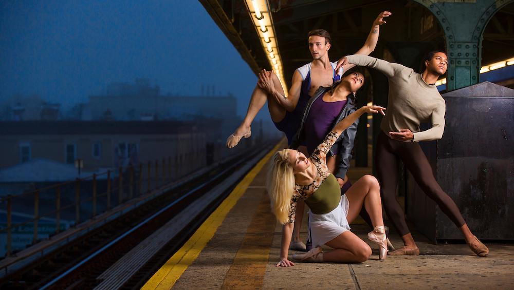 New York City Subway Dance As Art Photography