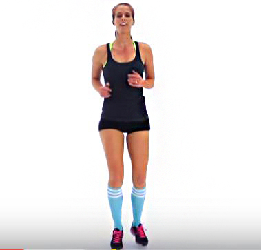 Wake up and go HIIT routine from Fitness Blender