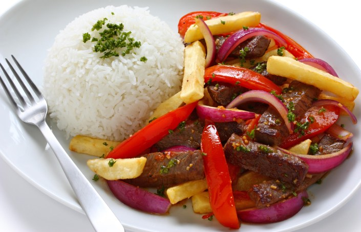 Lomo saltado peruvian steak stir fry recipe art of for Art of peruvian cuisine