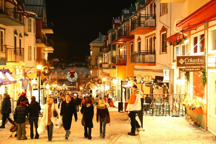 Mont Tremblant Night