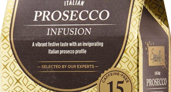 Prosecco infused tea