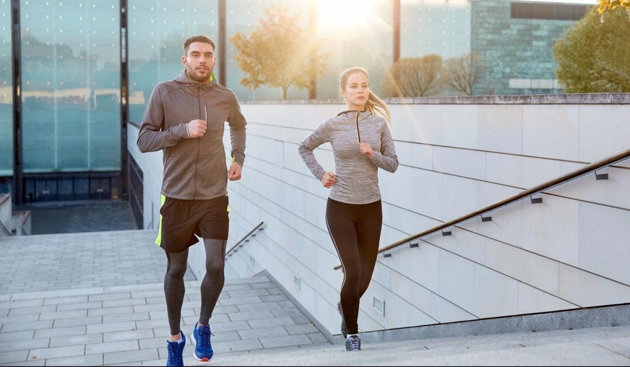Run outdoors