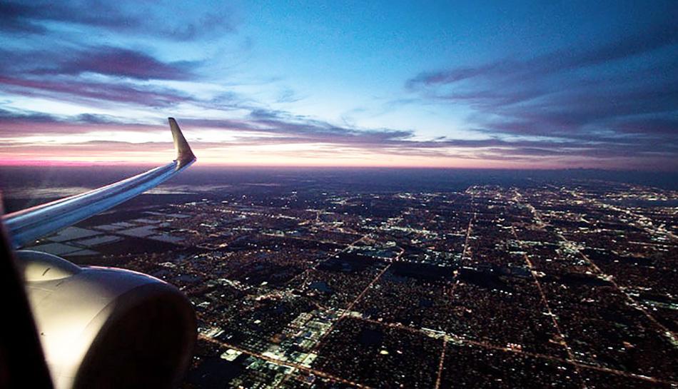 Flight from JFK