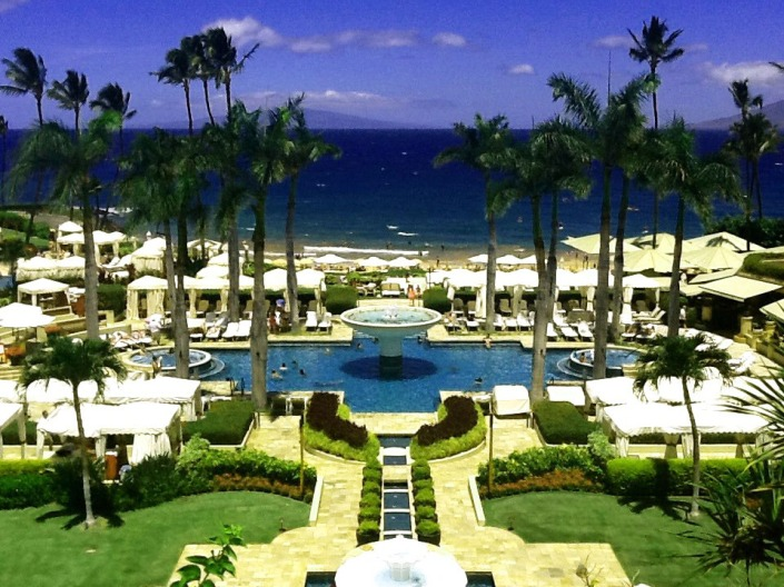 Four Seasons in Maui, Hawaii