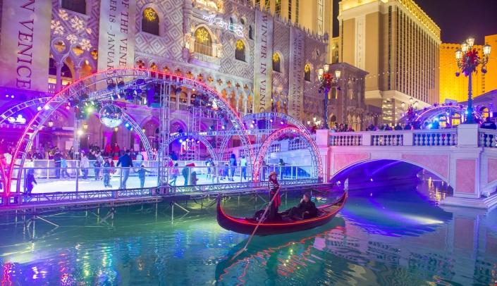 Venetian Hotel in Vegas