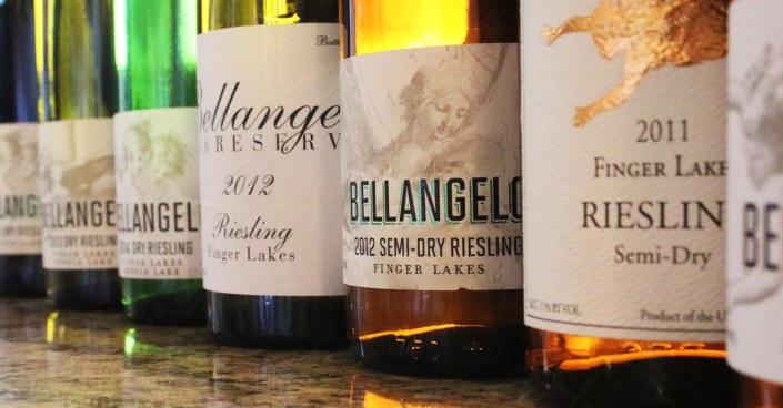 Villa Bellangelo Riesling lineup