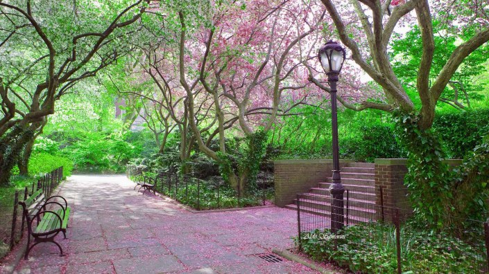 Conservatory Garden, Central Park, New York