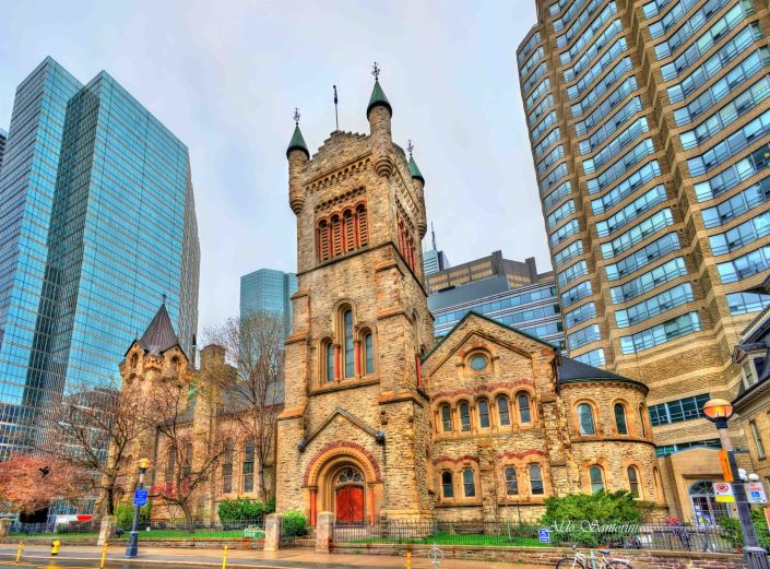 St Andrew's church in Toronto, Canada