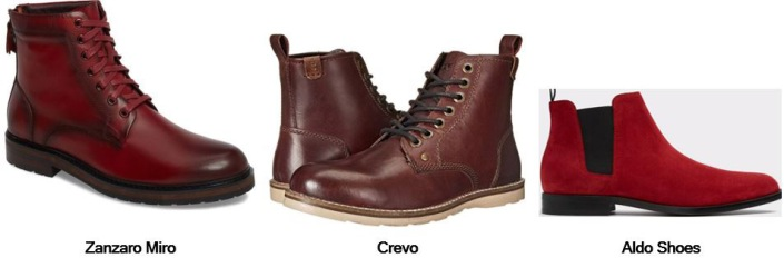 Boot - Men Red