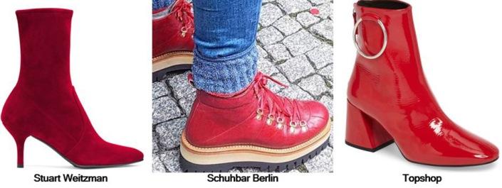 Boot - Red Women