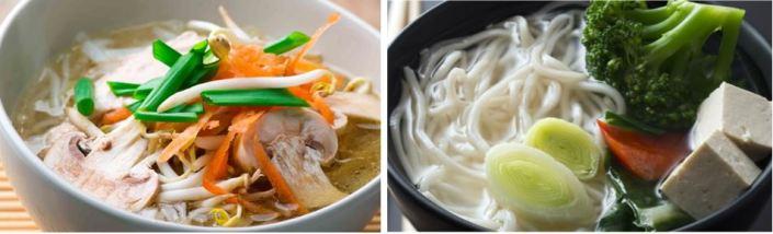chicken tofu noodle soup