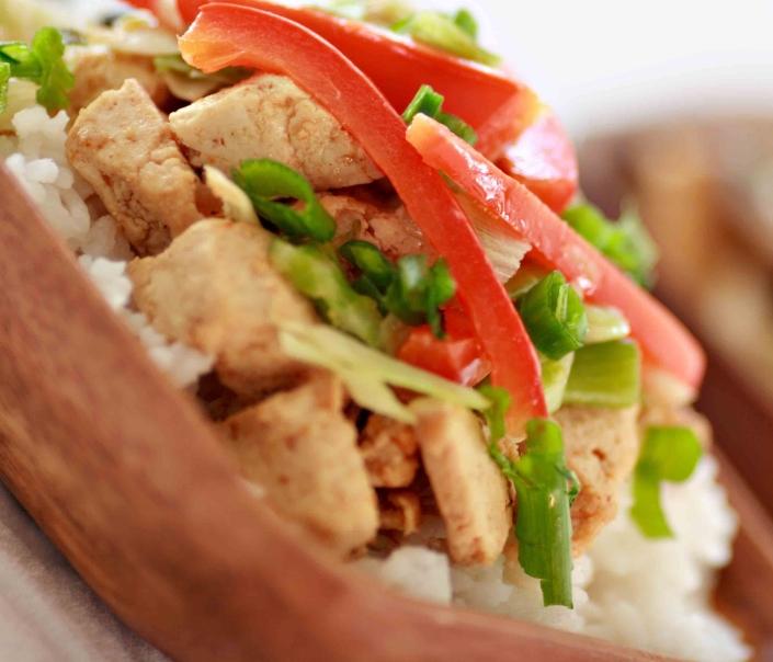balsamic tofu